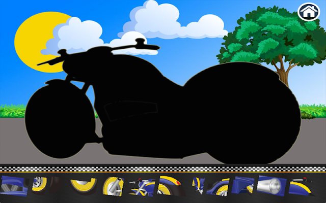 Motorcycles for Toddlers - screenshot