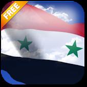 3D Syria Flag Live Wallpaper