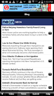 NECN WX- screenshot thumbnail