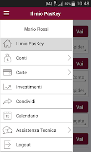 Banca MPS Smartphone- screenshot thumbnail