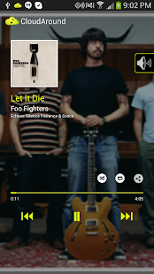 CloudAround Lite Music Player - screenshot thumbnail
