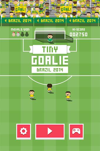 Tiny Goalie: World Soccer