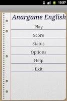 Screenshot of Anargame English