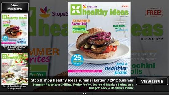 Stop & Shop Healthy Ideas - screenshot thumbnail
