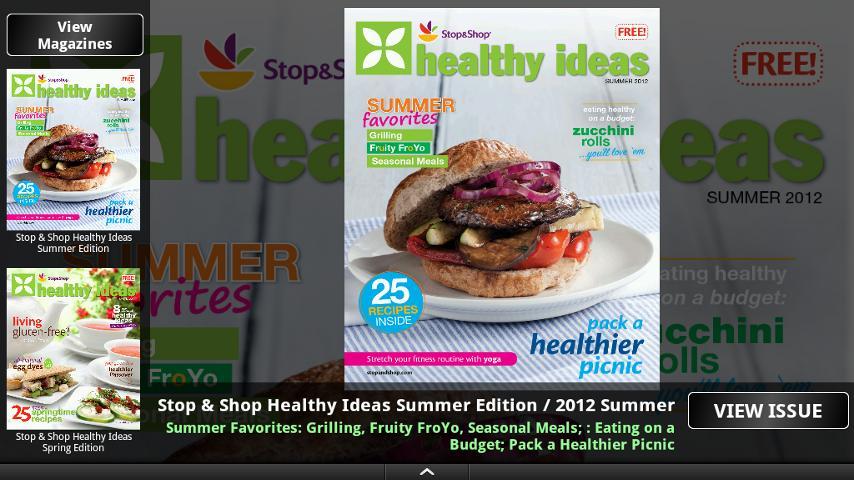 Stop & Shop Healthy Ideas - screenshot