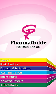 PharmaGuide Pakistan screenshot for Android