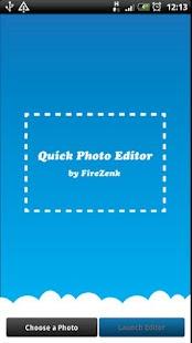 Quick Photo Editor- screenshot thumbnail