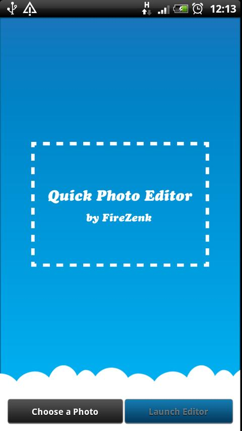 Quick Photo Editor- screenshot