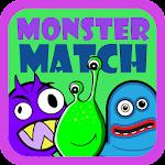 Preschool Monster Match