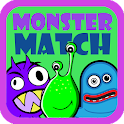 Preschool Monster Match icon