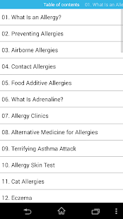 audio book - allergies - screenshot thumbnail