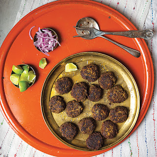Shami Kebabs (Spiced Ground Beef Patties).