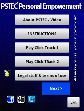 Erase Stress & Fear With PSTEC- screenshot