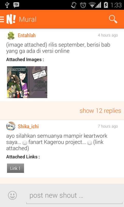 NGOMIK - Baca Komik Indonesia- screenshot