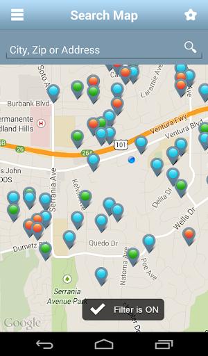 California Real Estate App