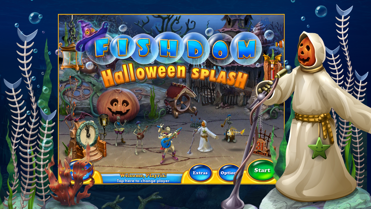 Fishdom Spooky HD - screenshot
