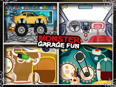 Monster Car Garage Fun v28.1