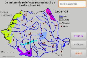 Screenshot of BAC Geografie