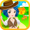 Farmer Girl Dress Up Games icon