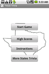 States Trivia - Texas- screenshot thumbnail