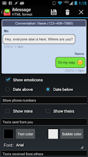 Email Text Messages - screenshot thumbnail