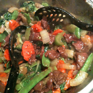 Beef with Vegetable Stir Fry