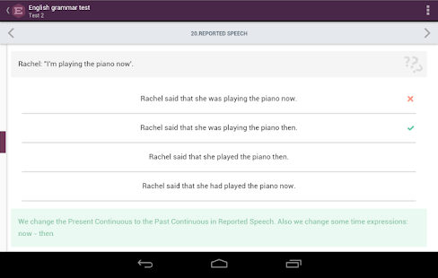 English Grammar Test - Android Apps on Google Play