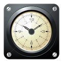 AVIATOR - retro clock icon