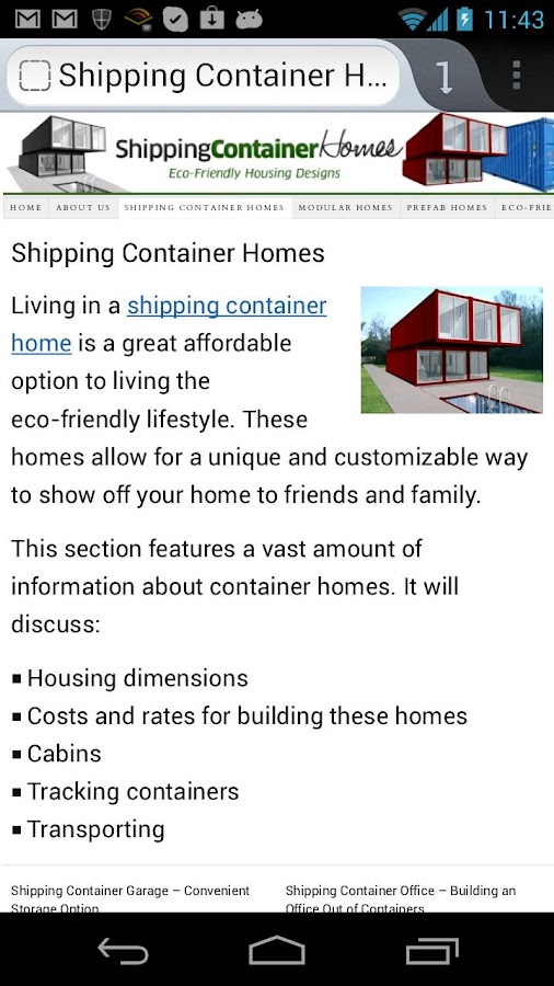 Container House Plans (Free) - screenshot