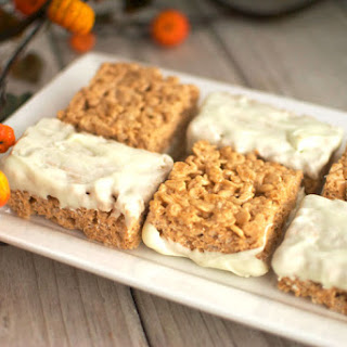 Pumpkin Spice Krispy Treats