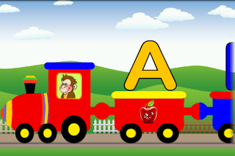 Alphabets Train | FREE Android app market: www.myappwiz.com/home/appdetail?platform=Android&appID=com.schogini...
