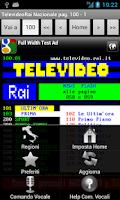 Screenshot of Televideo Rai