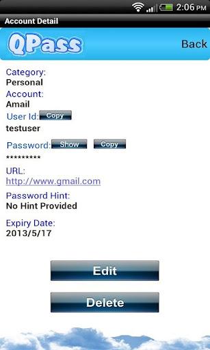 【免費工具App】QPass-APP點子