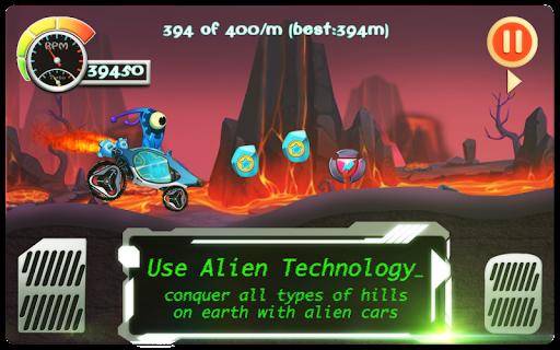 Alien Hill Climb