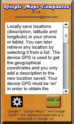 Google Maps Companion