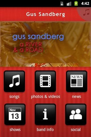 Gus Sandberg - screenshot