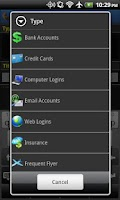 Screenshot of Password Manager Free