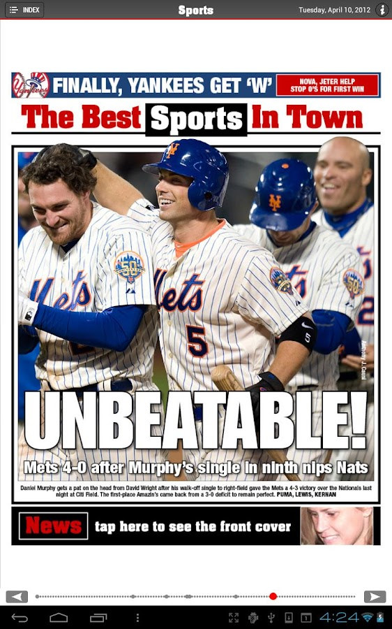 New York Post for Tablet - screenshot