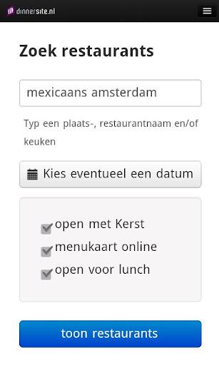 Dinnerste restaurantgids