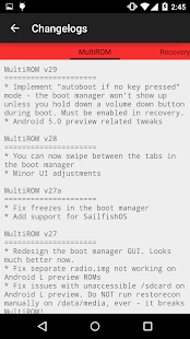 MultiROM Manager Screenshot 5