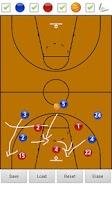 Screenshot of Basketball Strategy Board