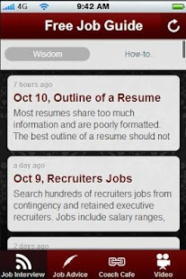 Free Job Search Guide.- screenshot thumbnail