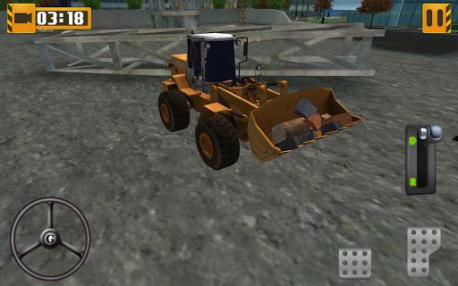 3D裝載機公園模擬器