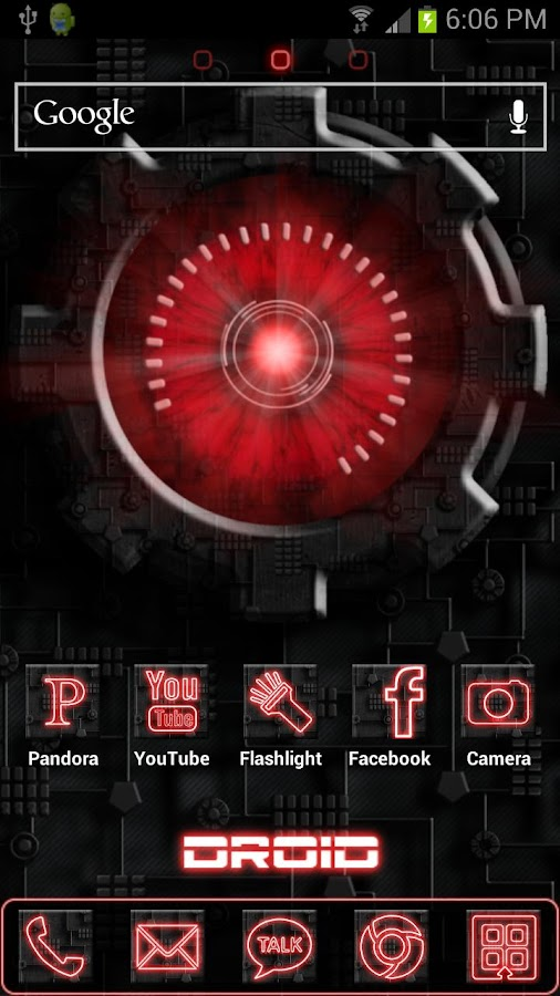 Droid ADW Theme - screenshot