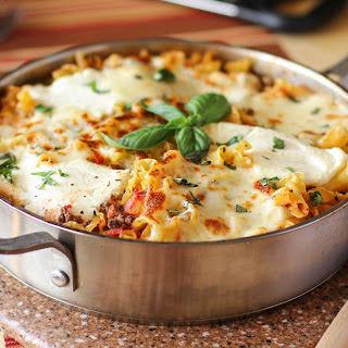3-Cheese Lasagna Skillet