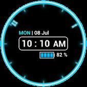 Neon Clock Free