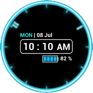 neon clock widget free   android apps on google play