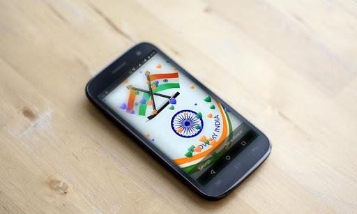 India Flag 3D Balloon HD LWP