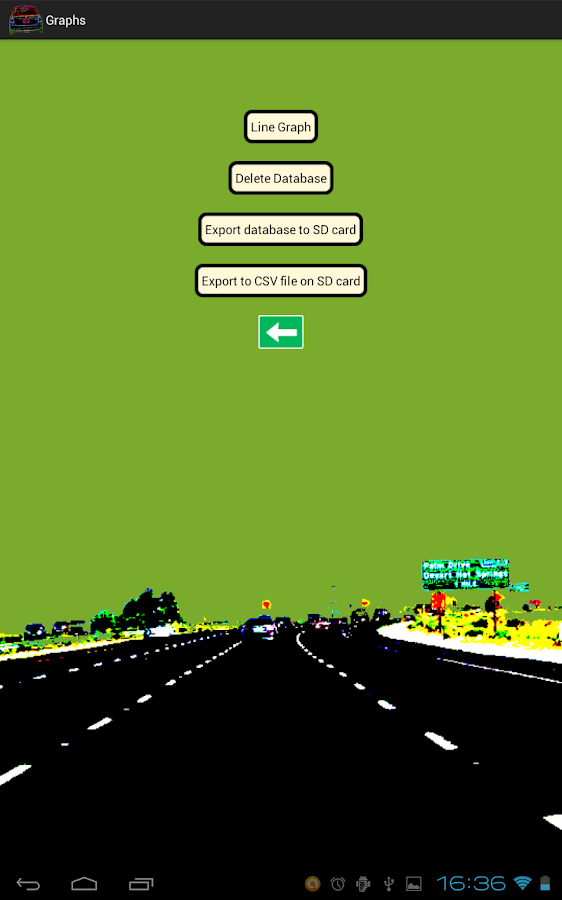 Reflex Driver- screenshot
