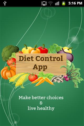 Best Diet Control App -Healthy - screenshot